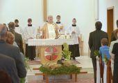 Hubertovská svätá omša (5. výročie kostola v Streženiciach)