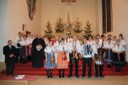 Vianočné pásmo veriacich z Ďurčinej