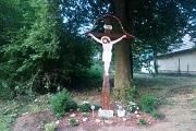 Stavba krížovej cesty v Štepniciach